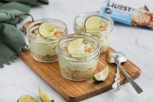 We Couldn't Wait To Take the Lid Off These Lime Pie Jars